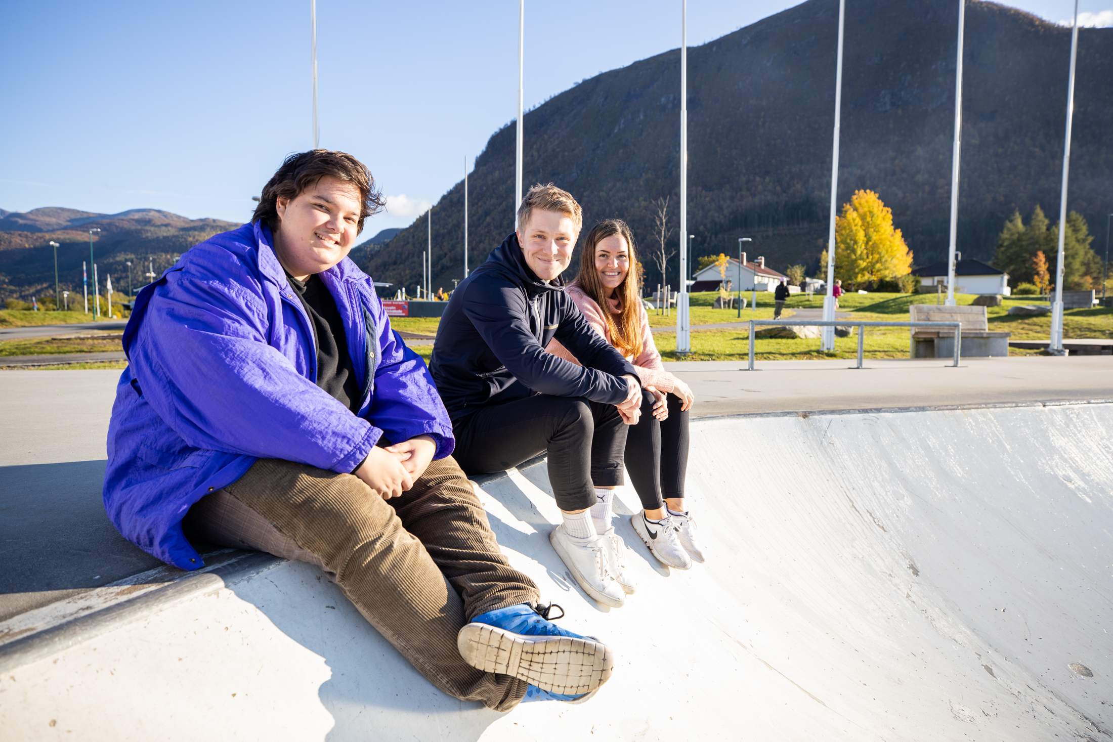 studenter skatepark